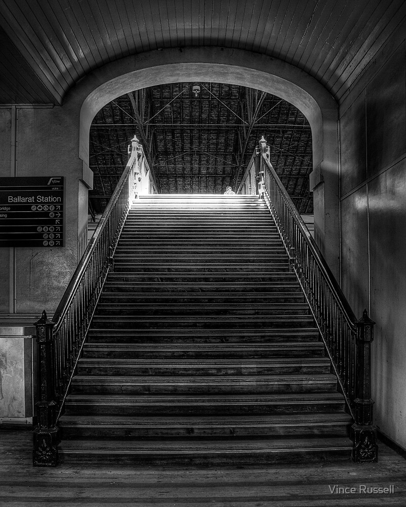 Stairway to Departure by Vince Russell