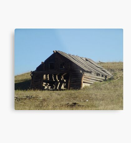 OLD BUILDING TECHNOLOGY Metal Print