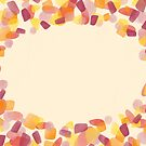 Blank greeting card - yellow and red by Lingthusiasm