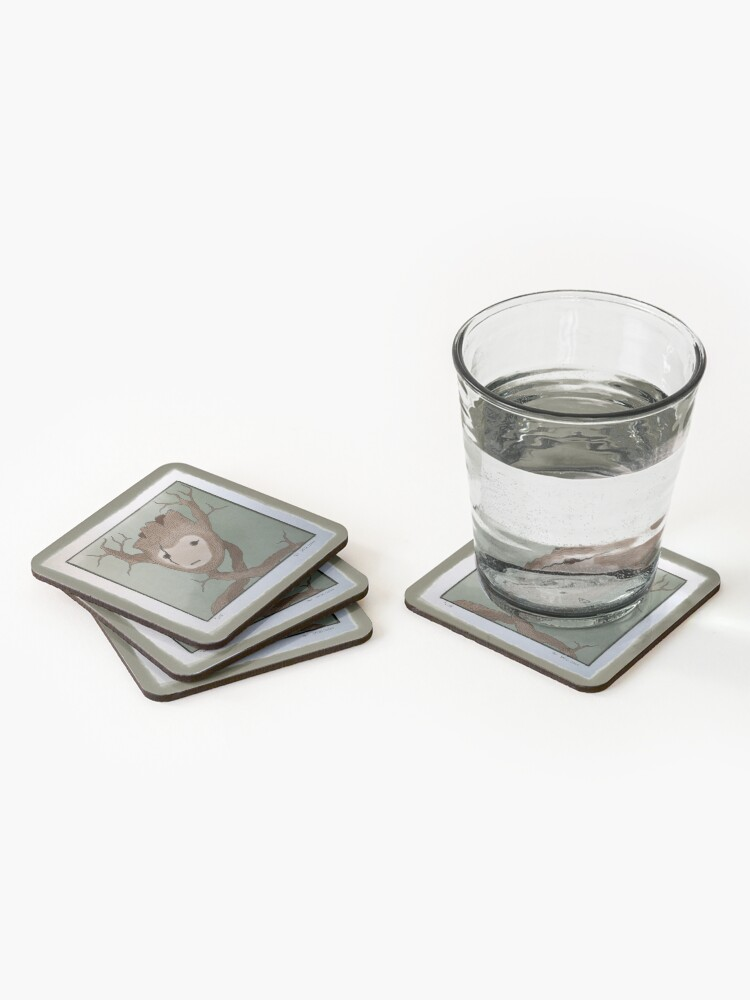 Alternate view of Wild Coasters (Set of 4)