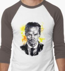 Jim Moriarty + paint Men's Baseball ¾ T-Shirt