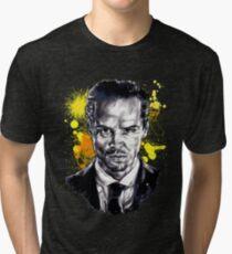 Jim Moriarty + paint Tri-blend T-Shirt
