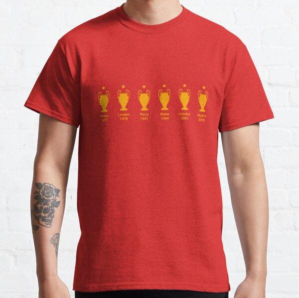 Six Times Champions of Europe Classic T-Shirt