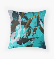 Fish From Above Throw Pillow