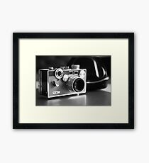 'The Brick' ...black and white  Framed Print