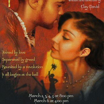 Cinderella Drama Poster by DeepRedTiger