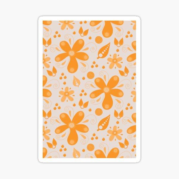 Orange blossom collection 1 Sticker