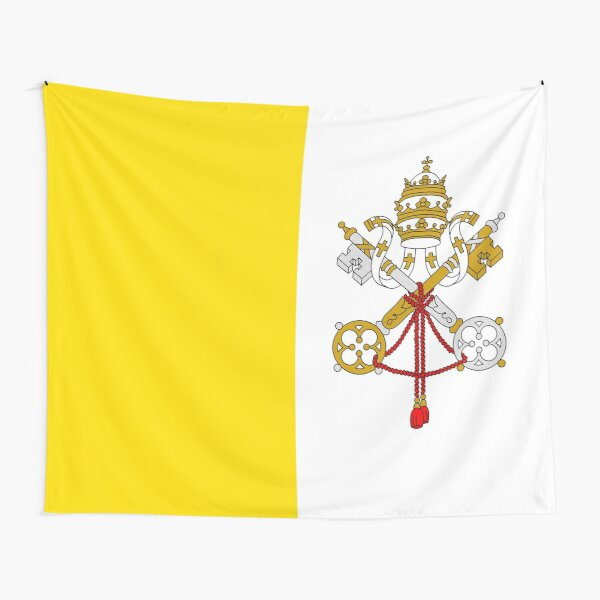 Flag of the Vatican City Tapestry