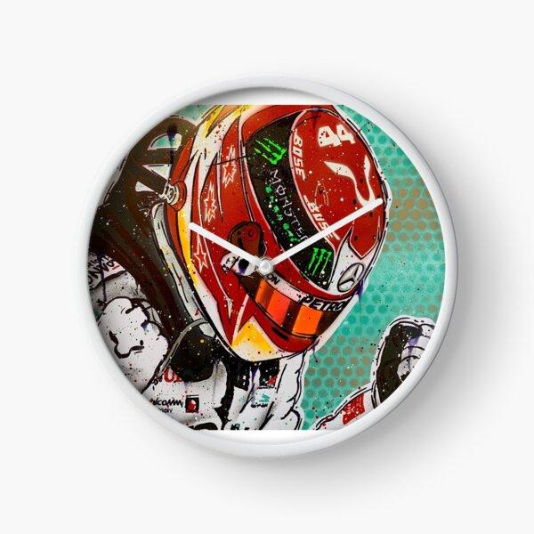 Lewis Hamilton 2019 F1 graffiti painting by DRAutoArt - No.2 Clock