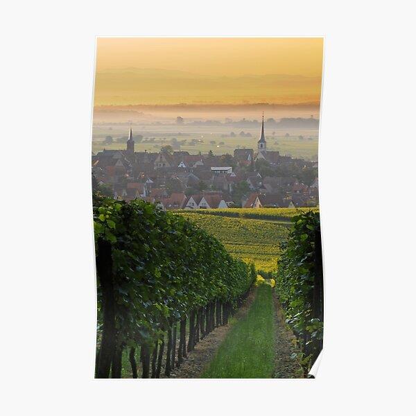 Village de Mittelbergheim 2 Poster