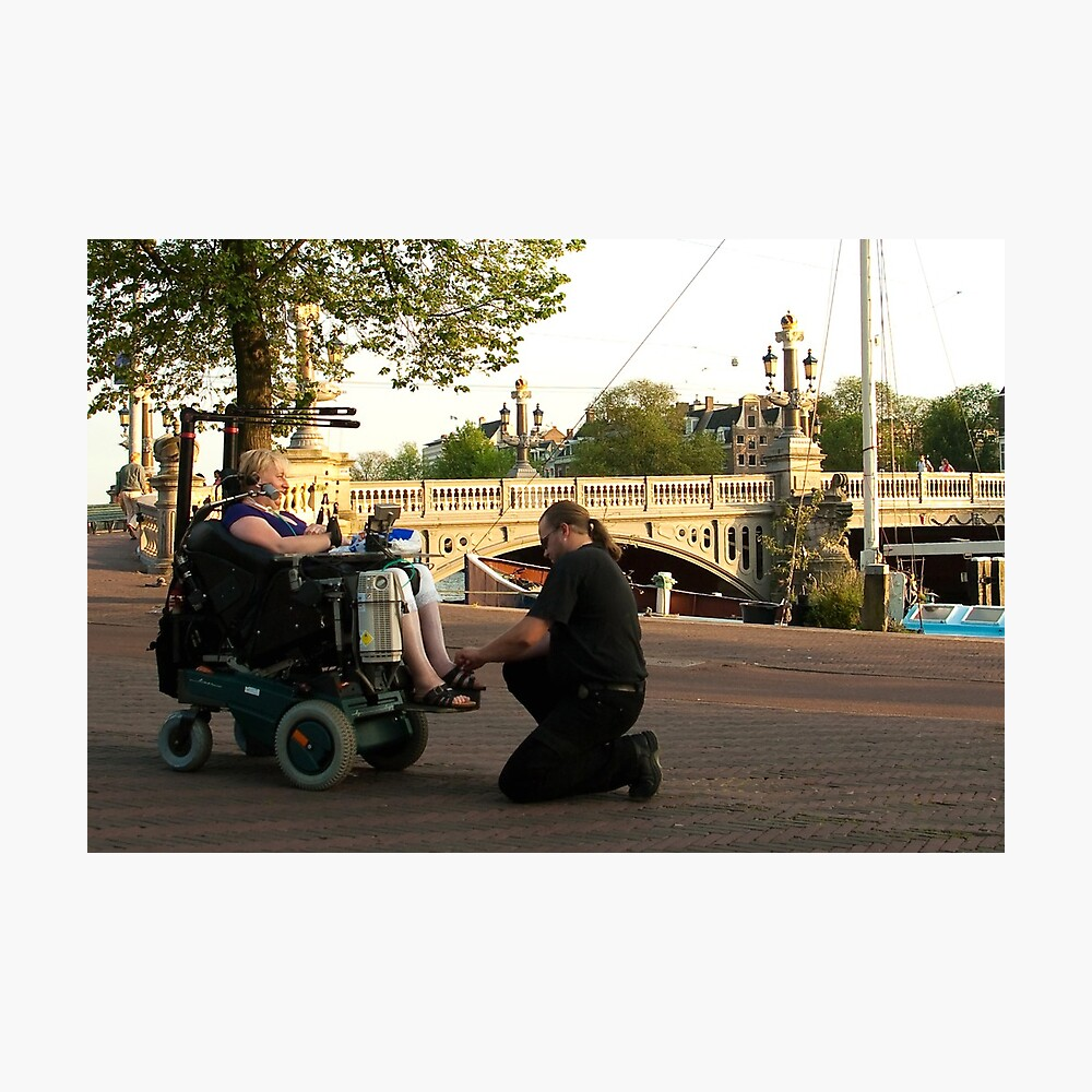 About real compassion and care Photographic Print