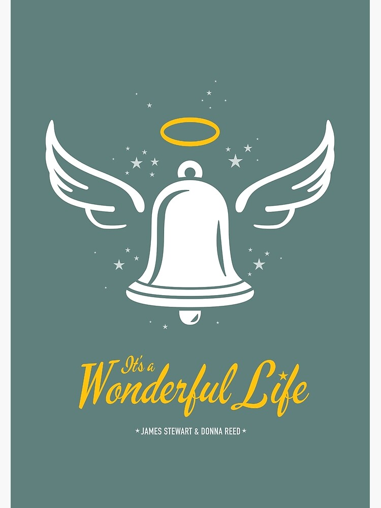 It's a Wonderful Life - Alternative Movie Poster by MoviePosterBoy