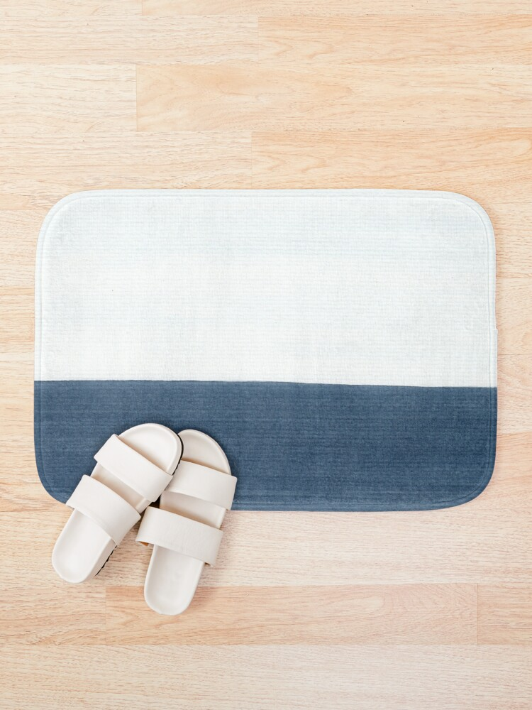 Alternate view of Ocean Watercolor Painting | No. 1 Bath Mat