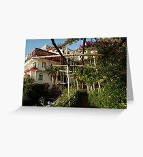 Villa Santa Caterina hotel Greeting Card