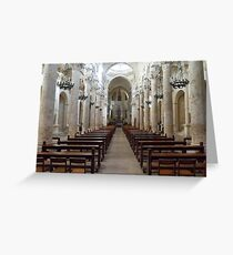 basilica di Santa Croce Greeting Card
