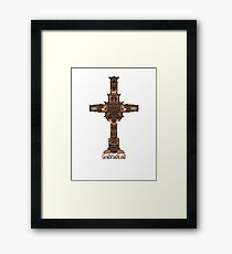 god is dead Framed Print