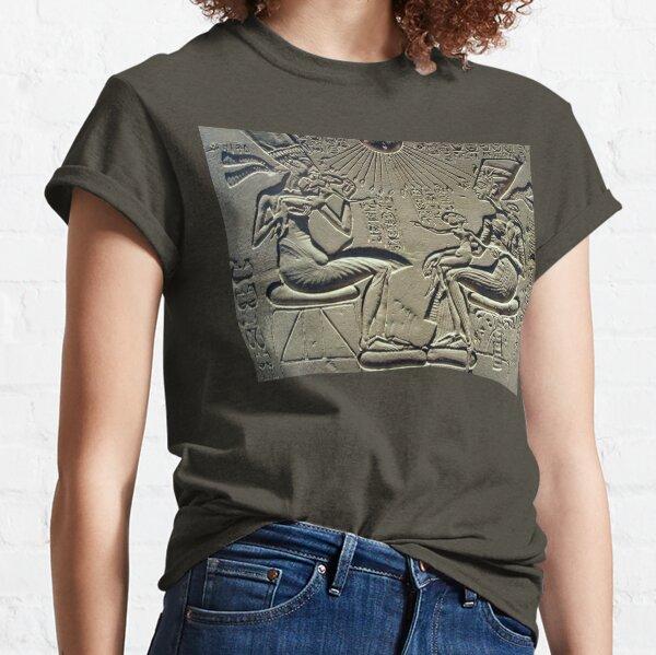 Akhenaten, Nefertiti and their children, Egypt, Egyptian. Classic T-Shirt
