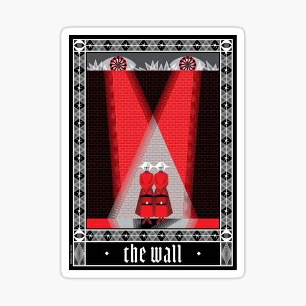 The Wall poster by ©2018 Balbusso Twins Sticker