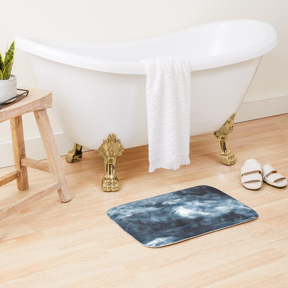 Indigo Depths No. 3 Bath Mat