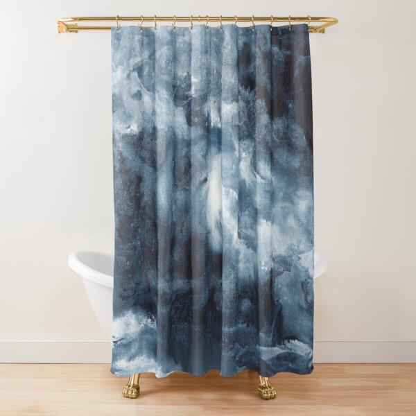 Indigo Depths No. 3 Shower Curtain