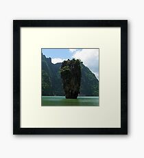 James Bond Island (Man with the Golden Gun !) Framed Print