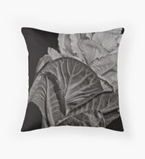 I may be cabbage looking.. Throw Pillow