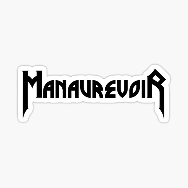 ManAurevoiR Sticker