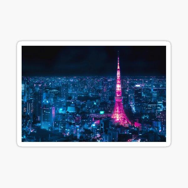 Tokyo Tower Sticker