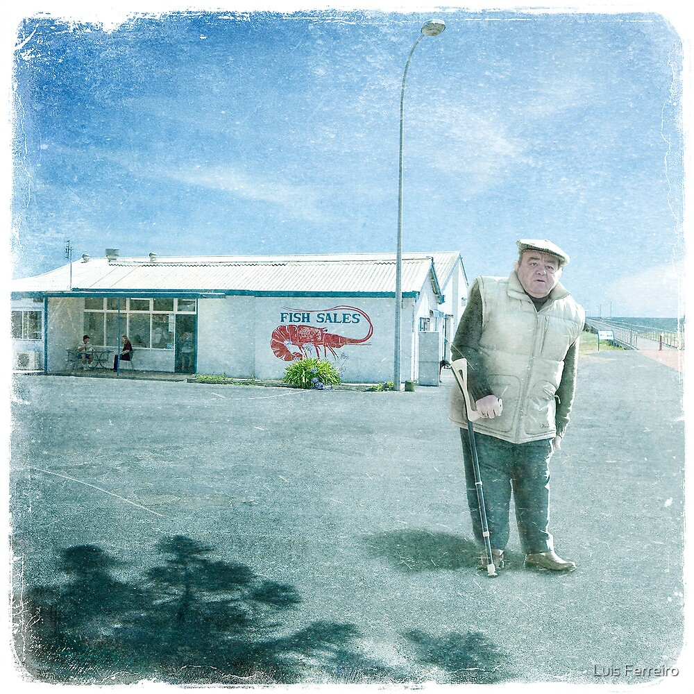 The Fishmonger by Luis Ferreiro
