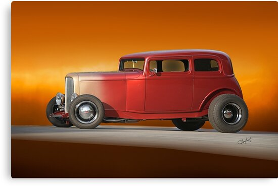 1932 Ford Victoria 'Leather' III by DaveKoontz