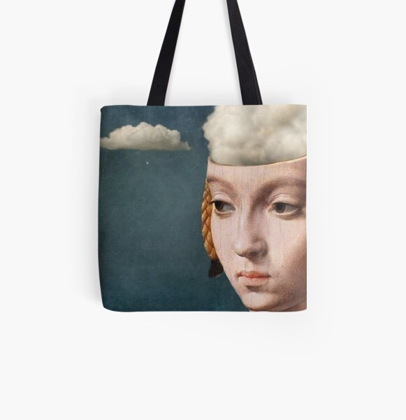THE HEAD IN THE CLOUDS All Over Print Tote Bag