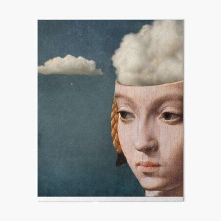 THE HEAD IN THE CLOUDS Art Board Print