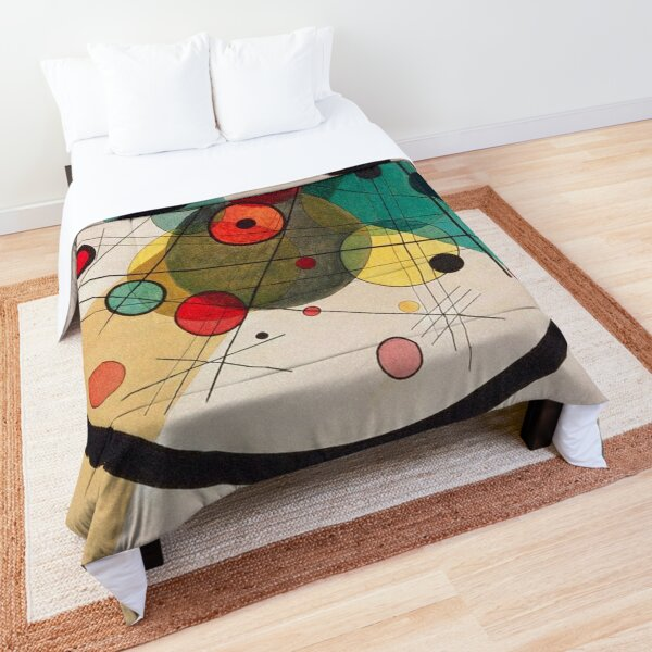 Circles in a Circle - Wassily Kandinsky Comforter