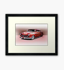 1950 Mercury Custom Sedan 'Barnfind' 1 Framed Print