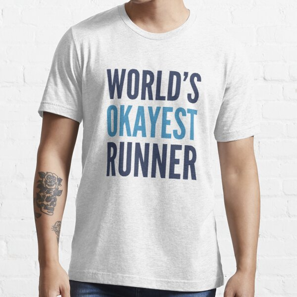 World's Okayest Runner Essential T-Shirt