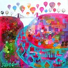 Bristol in buttons by Jenny Urquhart