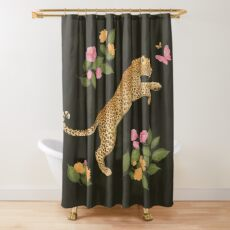 reach for it Shower Curtain