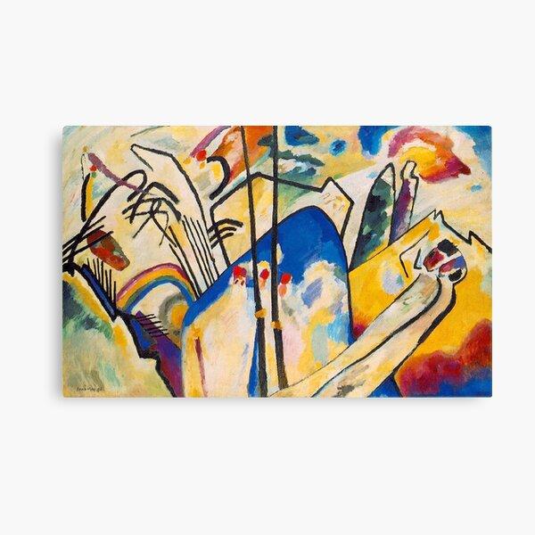 Composition IV - Wassily Kandinsky Canvas Print