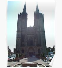 Coutances Cathedral Poster