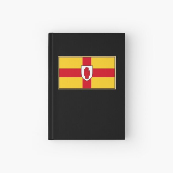Ulster Flag Stickers, Gifts and Products Hardcover Journal