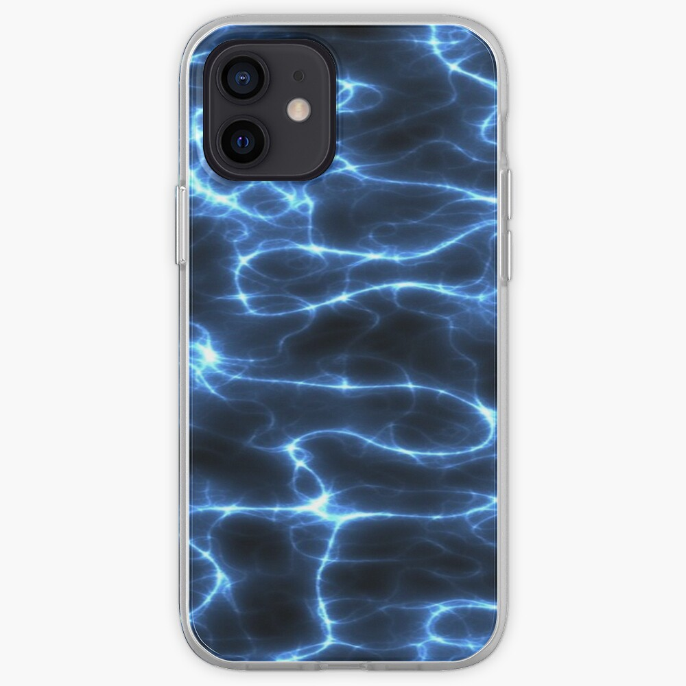 ELECTRIFIED BLUE. iPhone Case & Cover