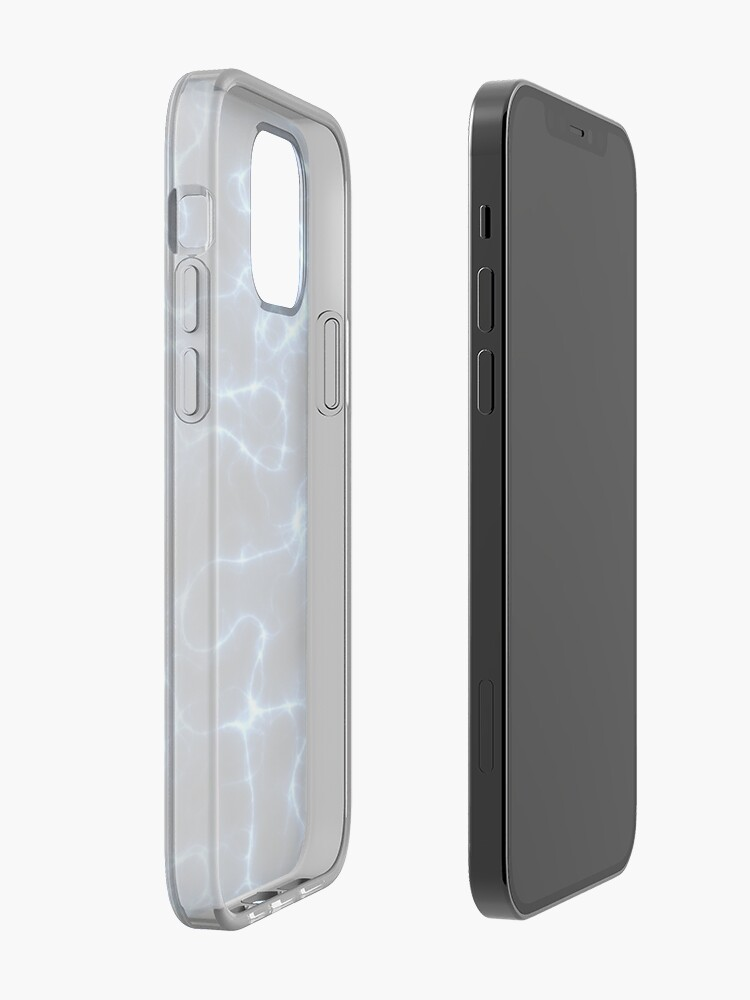 Alternate view of ELECTRIFIED BLUE. iPhone Case & Cover