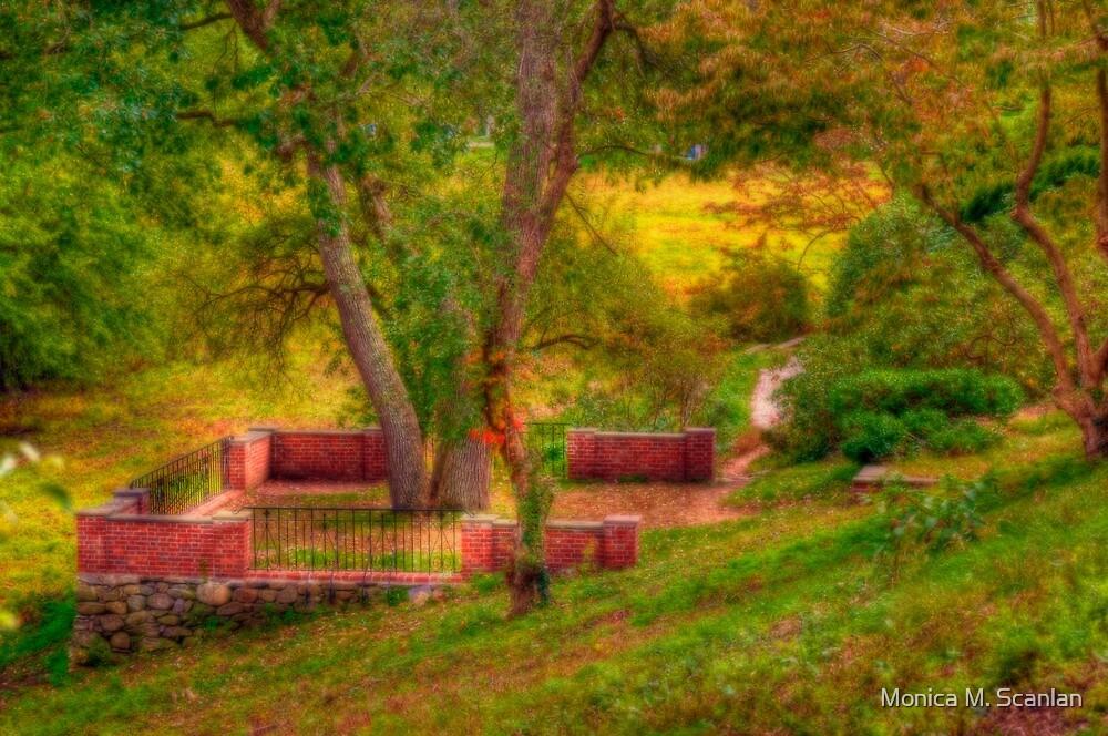 Waiting in the Garden by Monica M. Scanlan
