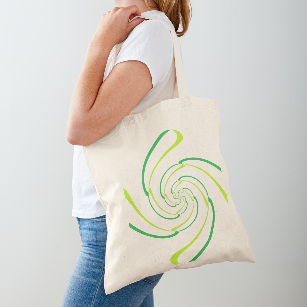 #Abstract, #proportion, #art, #flower, pattern, bright, decoration, kaleidoscope, ornate, creativity Tote Bag