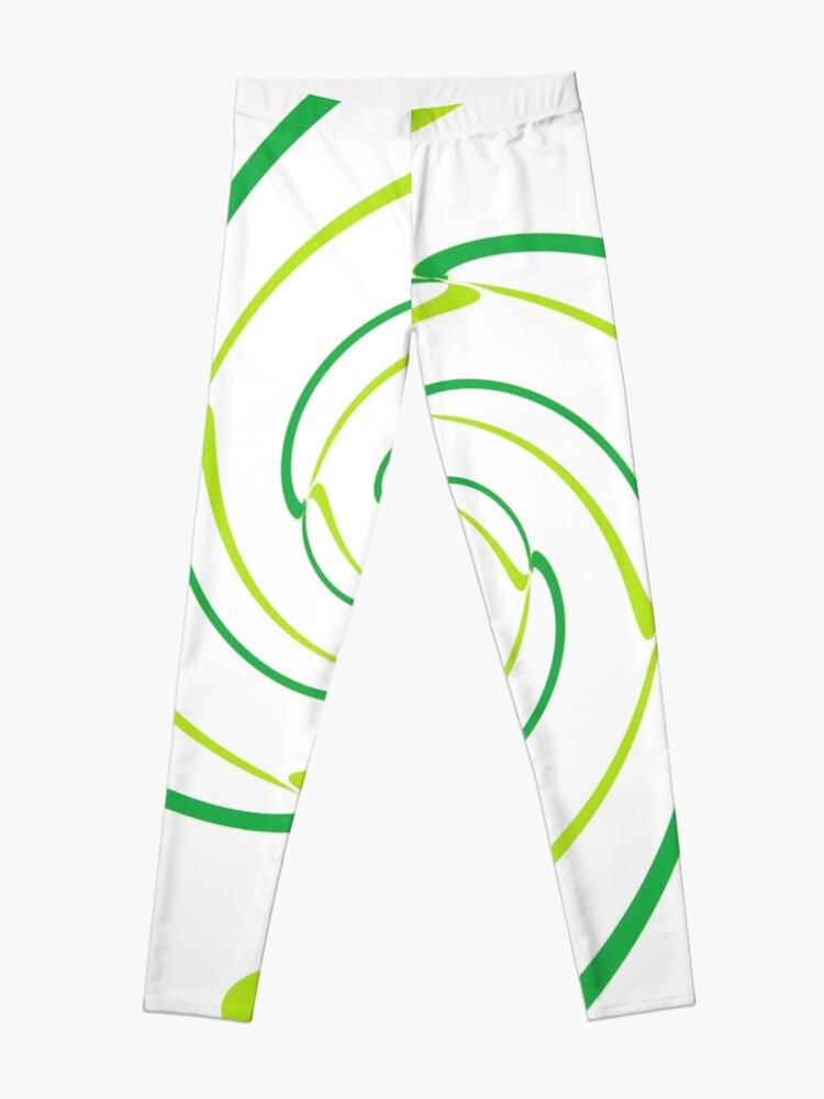 Alternate view of #Abstract, #proportion, #art, #flower, pattern, bright, decoration, kaleidoscope, ornate, creativity Leggings