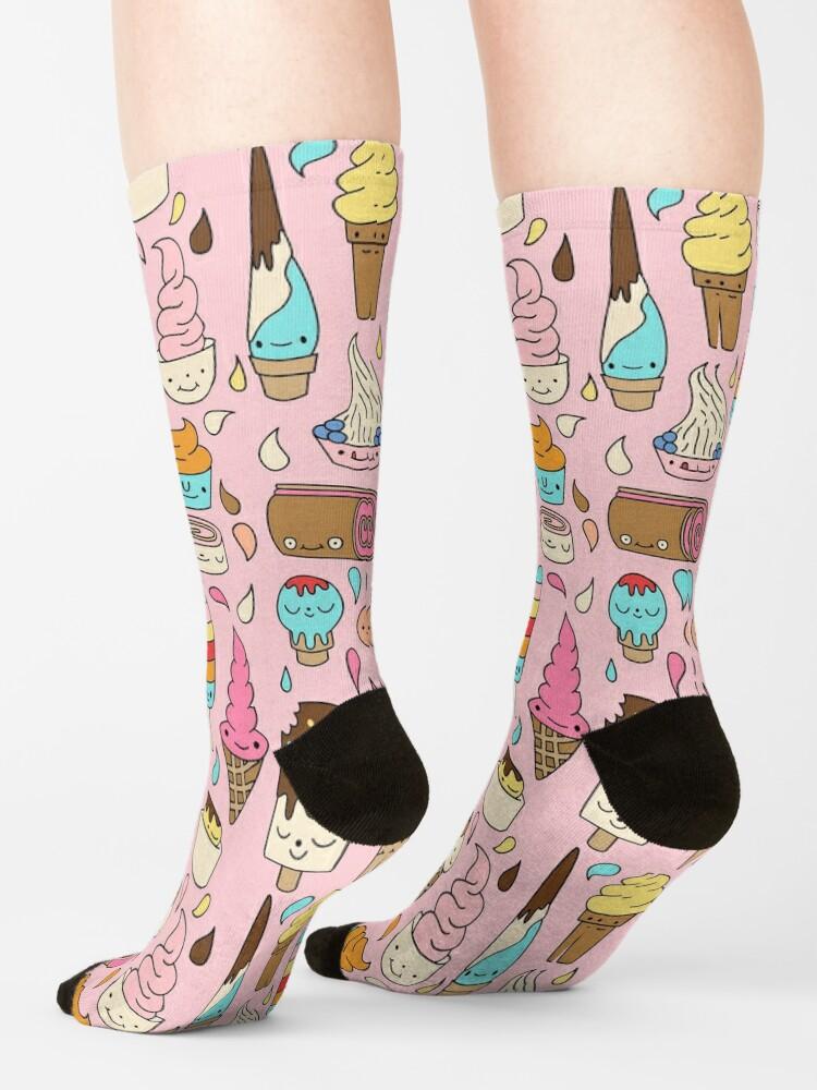Alternate view of Ice cream by Elebea Socks