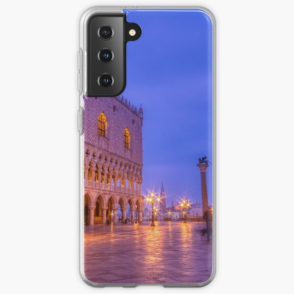 Piazza San Marco and Palazzo Ducale Samsung Galaxy Soft Case