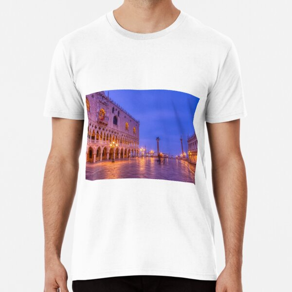 Piazza San Marco and Palazzo Ducale Premium T-Shirt