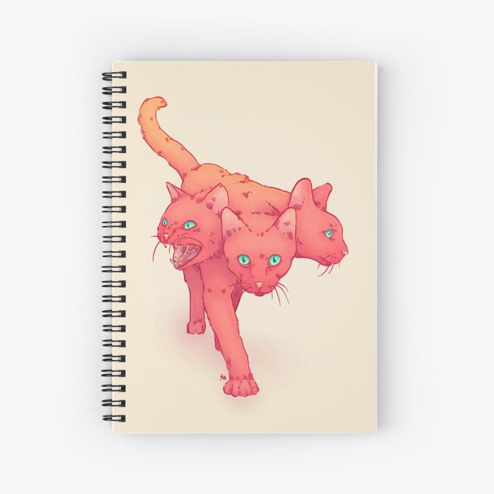 CHARBERUS Spiral Notebook