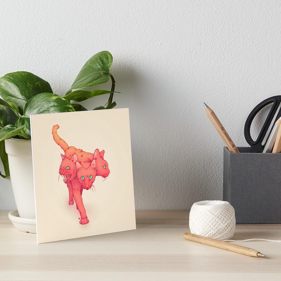 CHARBERUS Art Board Print